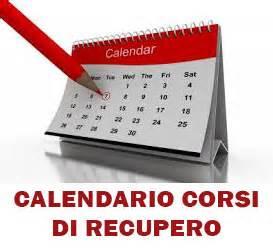 Calendario recuperi sede di Mosso