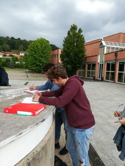 Geometri – Studenti impegnati a Sagliano Micca