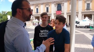 IIS GAE AULENTI – ROMA 27 SETTEMBRE – Insieme al Ministro Fioramonti