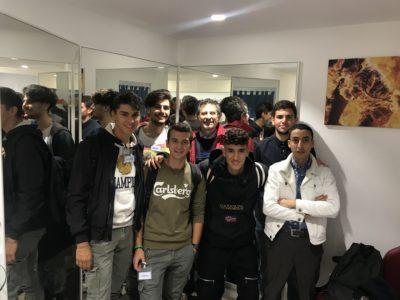 I nostri studenti in visita alla SPARCO