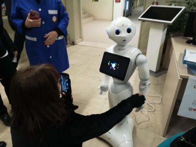 E' arrivato Pepper, il robot umanoide