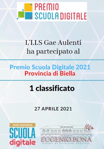 IIS GAE AULENTI VINCE IL PREMIO SCUOLA DIGITAL